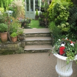 Resin Bound Gravel Paving in Albourne Green 1
