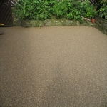 Resin Bound Stone Surfacing in Aberffrwd 7