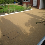 Resin Bound Stone Surfacing in Aberffrwd 10