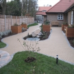 Permeable Resin Bound Paving in Aber Village 6