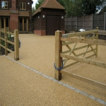 Resin Bound Stone Surfacing in Aberffrwd 3