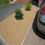 Resin Bound Stone Surfacing in Aberffrwd 9