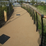 Resin Bound Stone Surfacing in Aberffrwd 2
