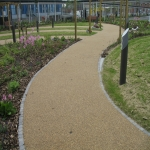 Resin Bound Stone Surfacing in Aberffrwd 6