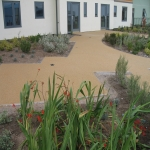 Permeable Resin Bound Paving in Aber Village 11