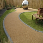 Resin Bound Gravel Paving in Albourne Green 6