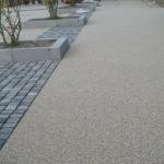 Permeable Resin Bound Paving in Aber Village 10