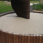 Resin Bound Gravel Paving in Albourne Green 3