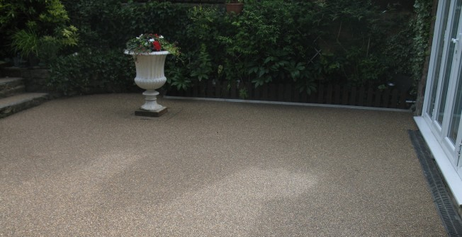 Resin Bound Surfacing in Aberffrwd