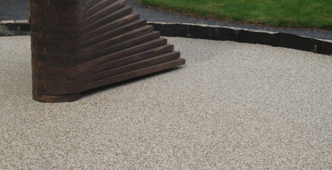 Outdoor Stone Paving in Aberfan