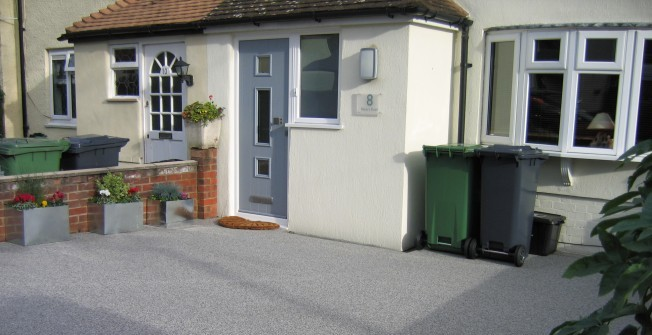 Addastone Resin Bound Gravel in Aber Village
