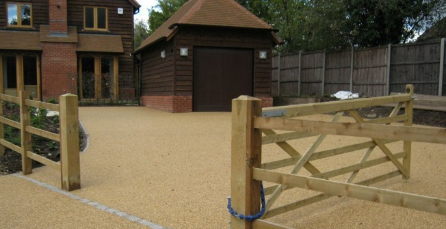 Resin Bound Gravel in Albourne Green