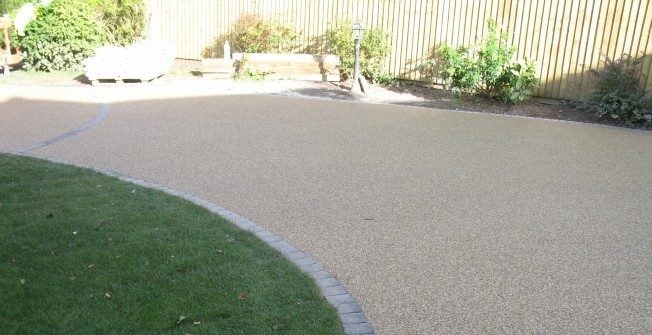 Gravel Paving Designs in Abergorlech